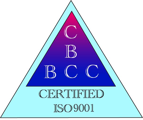 BBC ISO9001 certificate